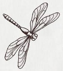 libelula dibujo animado