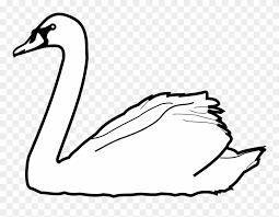 cisne para imprimir