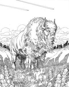 imagenes de bufalos animados
