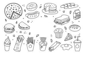 comida mexicana dibujos