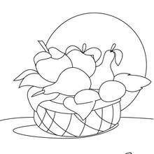 dibujo de aji para colorear