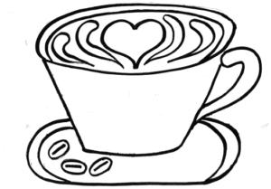 taza cafe dibujo