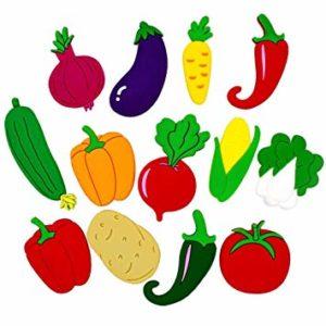 dibujos de frutas y verduras para colorear e imprimir