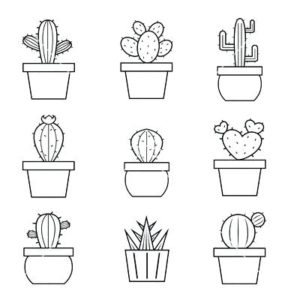 imagenes de cactus animados