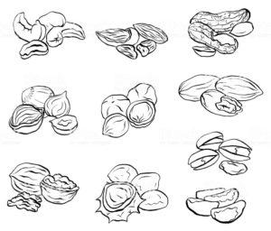 imagenes de nueces y almendras
