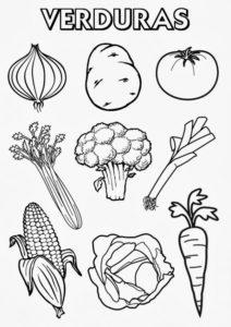 imagenes de verduras para imprimir