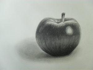 manzanas pintadas
