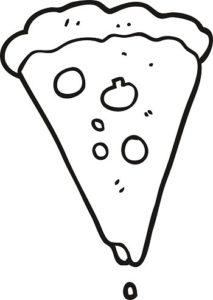 pizza para fotos