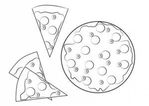 pizza para pintar
