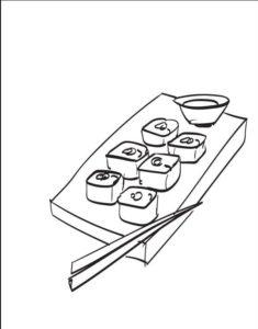 sushi fotos platos