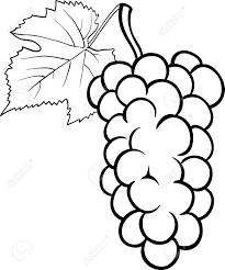 uvas animadas para colorear
