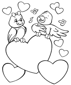 amor en dibujos