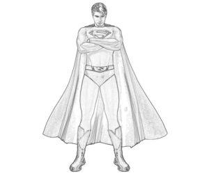dibujar a superman