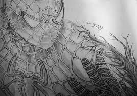 dibujo del spiderman