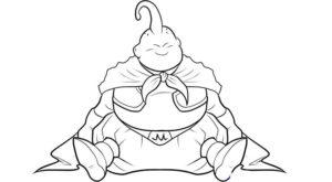dibujos a lapiz de majin buu