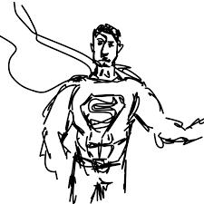 dibujos de batman y superman