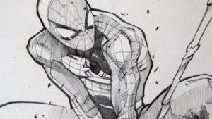 dibujos de el hombre araña