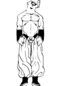 dibujos de majin buu gordo
