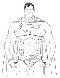dibujos faciles de superman