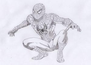 dibujos spiderman