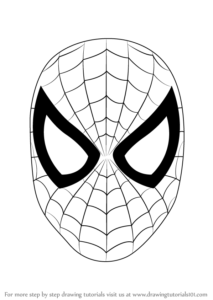 hombre araña en dibujos
