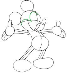 mickey mouse colorear