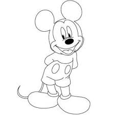 mickey para dibujar