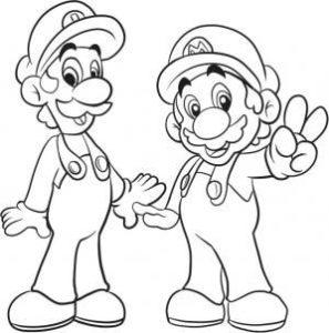 personajes de mario bros para dibujar