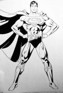 s de superman dibujo