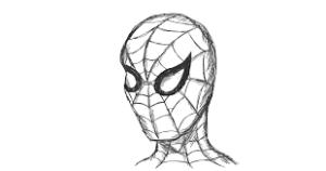 spider man en dibujo