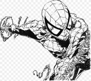 spiderman para dibujar