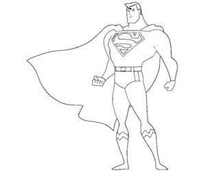 superman coloreado