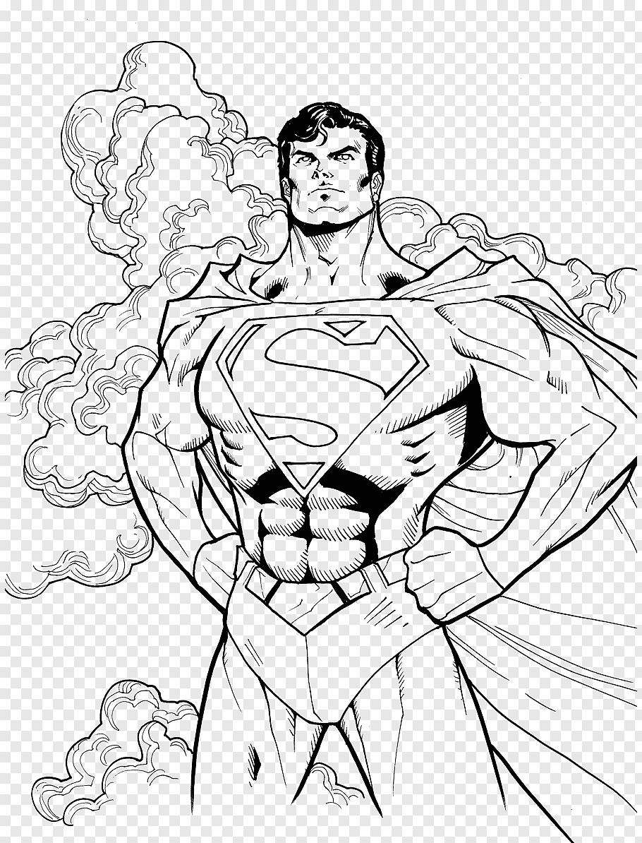 superman lego dibujo