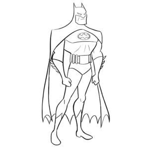superman para colorear