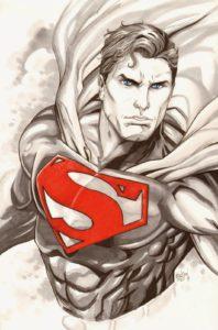 superman para colorear e imprimir