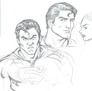 superman pintar